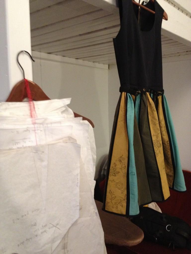 Mönster och remake av klänning
