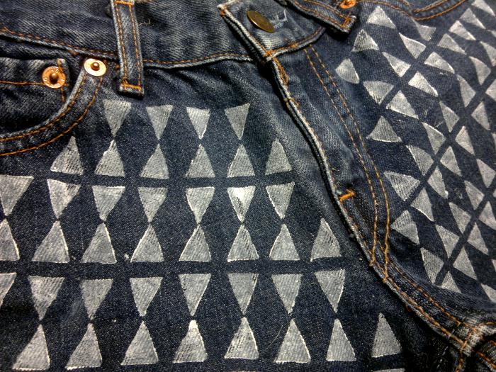 Kreativa tryck på dina jeans