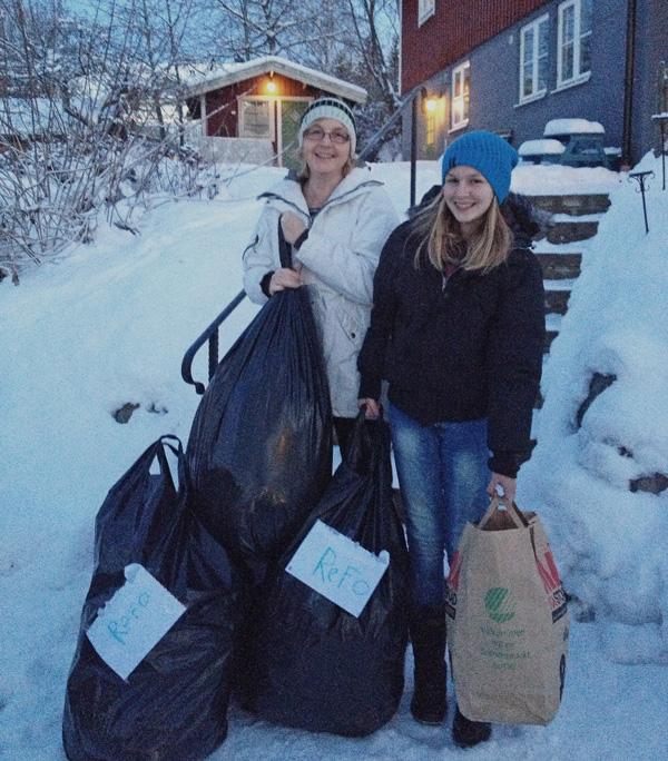 Klädhämtning familjen Erikson, refo