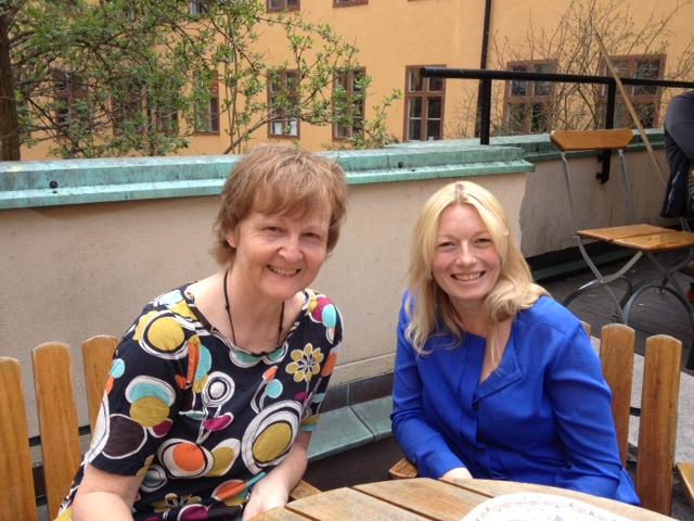 Liselotte Noren och Mia Wallgren