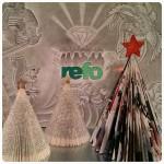 Julgranar och skiss
